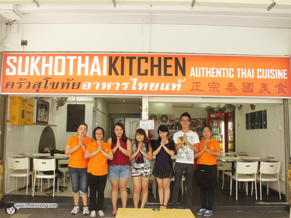 Sukhothai kitchen authentic thai cuisine review by for Authentic thai cuisine